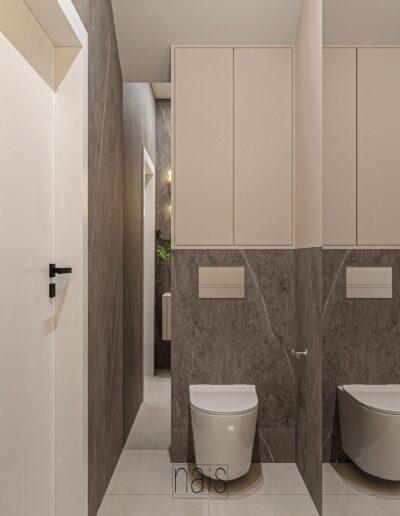 mala-toaleta-w-cieplych-barwach-z-zabudowa-nad-stelazem-wc